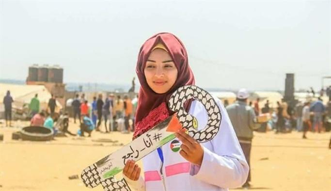 İşgalci İsrail hemşireyi iftar vakti katletti