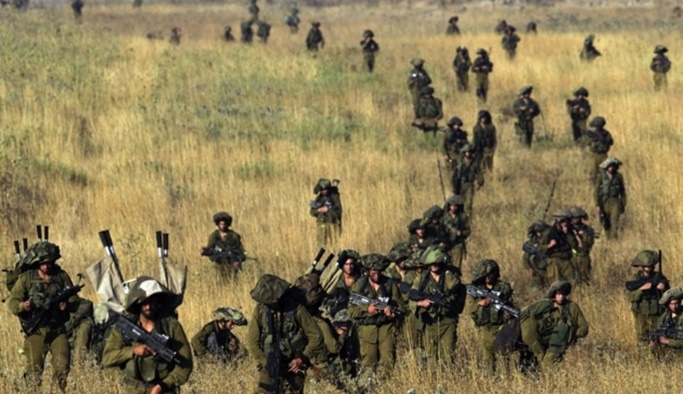 İsrail'den Golan Tepelerinde tatbikat