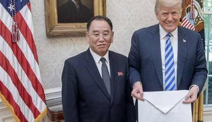 Kim Jong-Un'dan Trump'a mektup