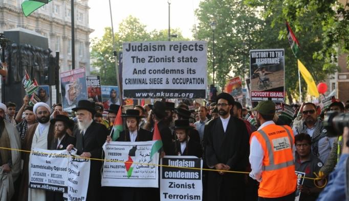 Londra'da Kudüs günü yürüyüşü