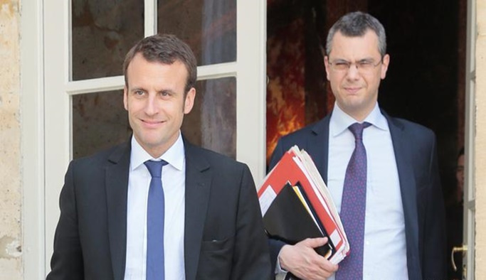 Macron'un sağ koluna soruşturma