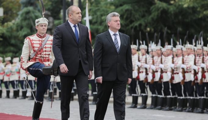 Makedonya Cumhurbaşkanı Ivanov Bulgaristan'da