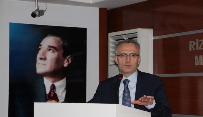 Maliye Bakanı Naci Ağbal: (1)