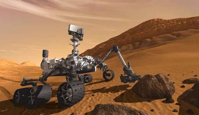 Mars'ta heyecan uyandıran keşif