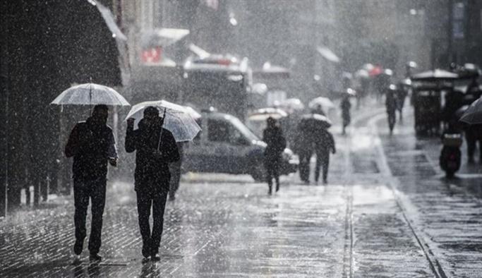 Meteoroloji'den 'salı gününe dikkat' uyarısı