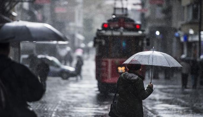 Meteoroloji saat verdi, 20 ile yağış uyarısı