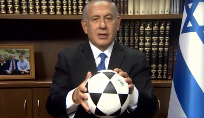 Netanyahu'dan İran halkına 'Ronaldo'lu çağrı