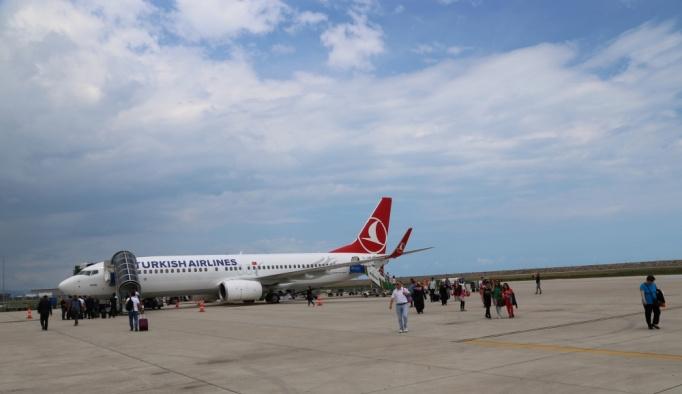 Ordu-Giresun Havalimanı'nda yolcu sayısı 2 milyon 700 bine ulaştı