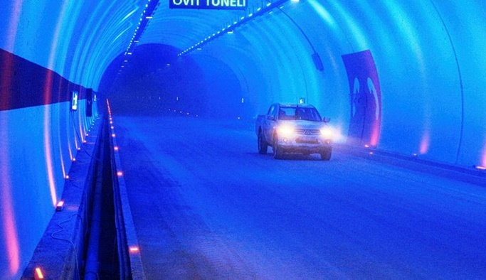 Ovit Tüneli Erdoğan'ın katılımıyla açıldı