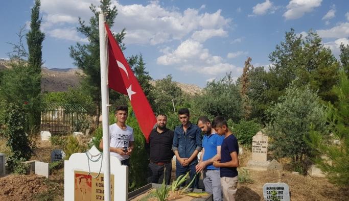 PKK'nın şehit ettiği babalarını andılar
