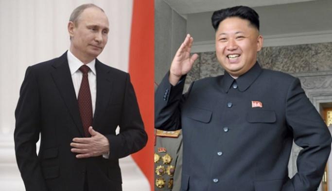 Putin'den Kuzey Kore lideri Kim'e davet
