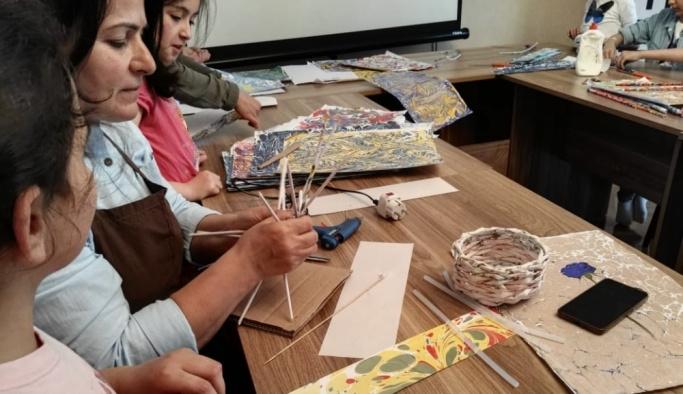 TİKA'dan Azerbaycan'da Yeşilaya, Kırgızistan'da kreşlere destek
