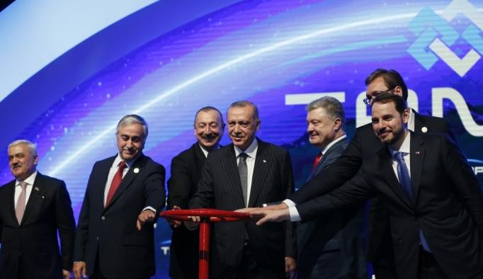 Trans Anadolu Doğalgaz Boru Hattı'nın açılışı