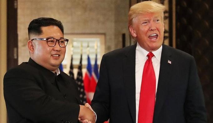 Trump: Artık Kuzey Kore'den nükleer tehdit yok