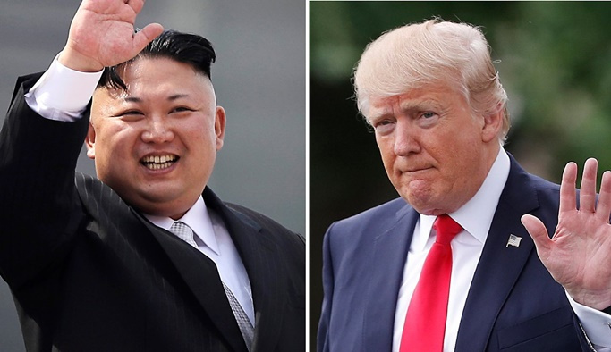 Trump ve Kim kritik zirve için Singapur'da