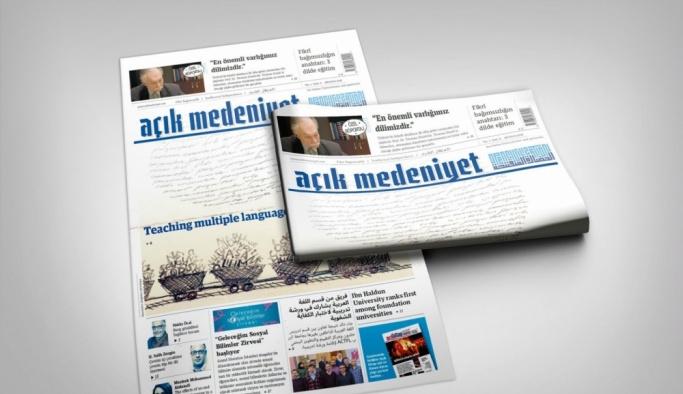 """""""Açık Medeniyet"""" Gazetesi'nin yeni sayısı okurla buluştu"""