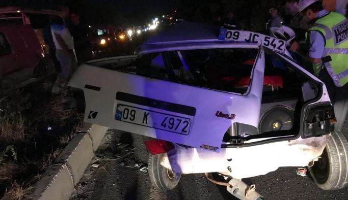Aydın'da trafik kazası: 2 ölü, 2 yaralı