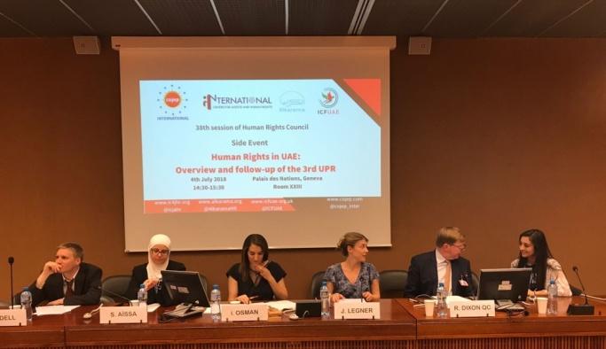 BAE'ye uluslararası insan hakları standartlarına uy çağrısı