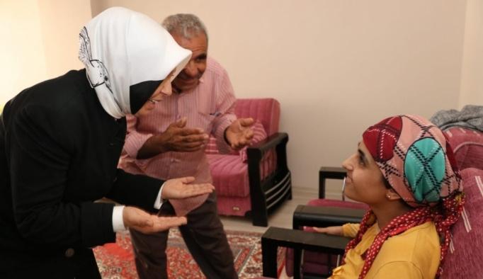 Çalık'tan engelli kardeşlere ziyaret