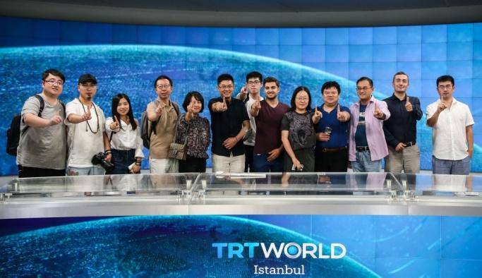Çinli gazeteciler ve sosyal medya temsilcileri İstanbul'da