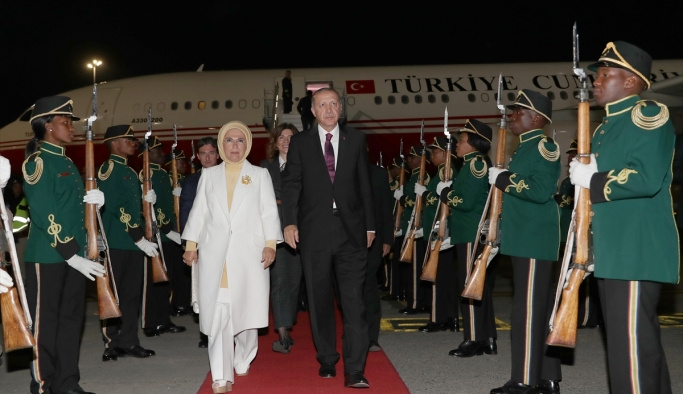 Erdoğan'dan Güney Afrika'da FETÖ mesajları!