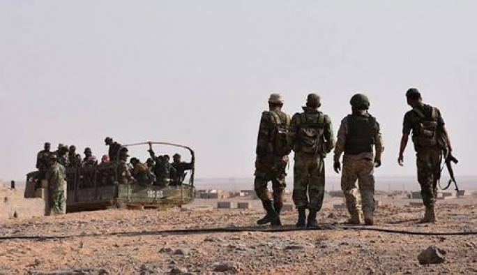 Esed rejimi İsrail sınırı hattına ilerliyor