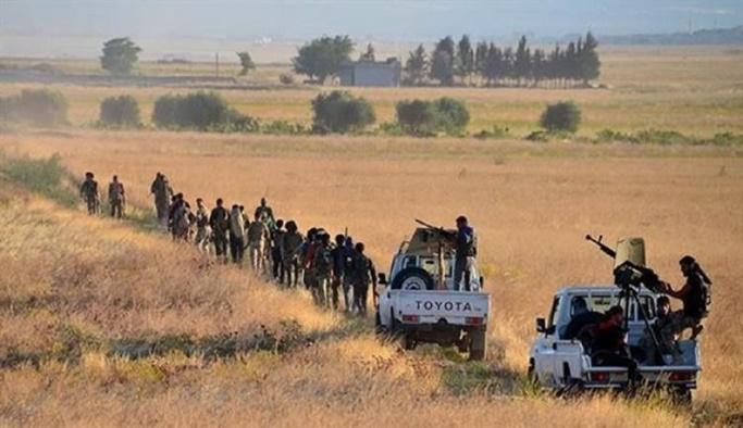 Esed rejimine bağlı milisler El Bab'a saldırdı