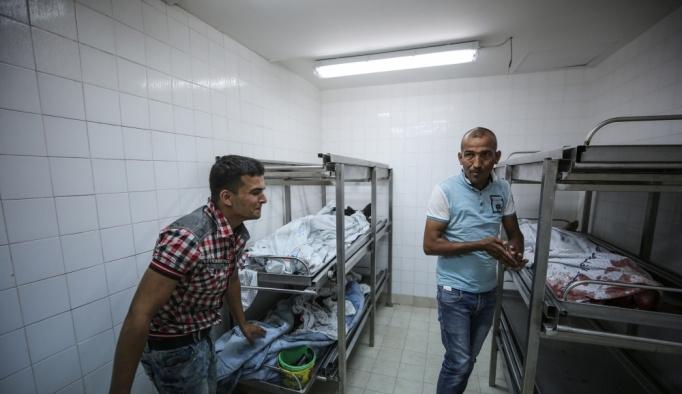 GÜNCELLEME 2 - İsrail'in Gazze'ye saldırılarında 4 Filistinli şehit oldu