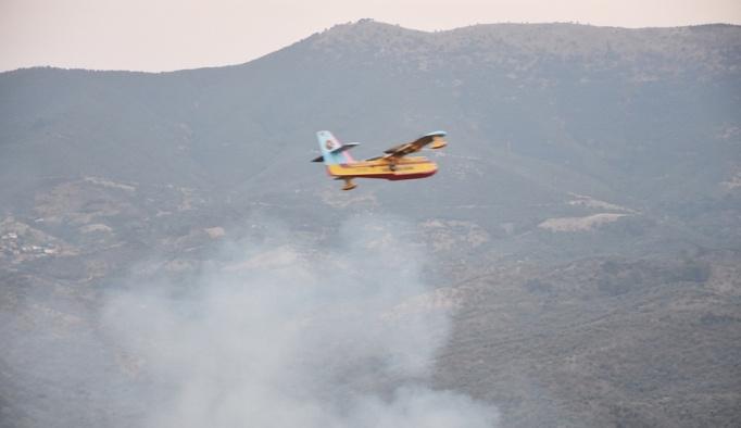 GÜNCELLEME - İzmir'de orman yangını