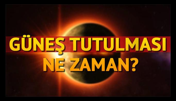 Güneş Tutulması Nedir - Güneş Tutulması Olayı
