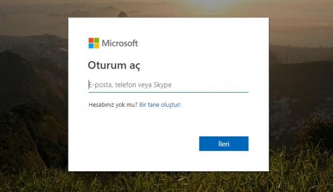 HOTMAIL GİRİŞ: Kaydol, hesap açma, Outlook oturum açma
