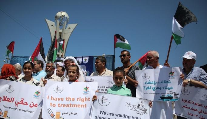 """İsrail ablukasını Gazze Limanı'ndan delme girişimi: """"Özgürlük Gemisi 2"""""""