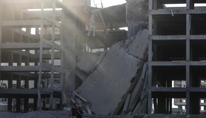 İsrail'den Gazze'ye hava saldırısı: 12 yaralı