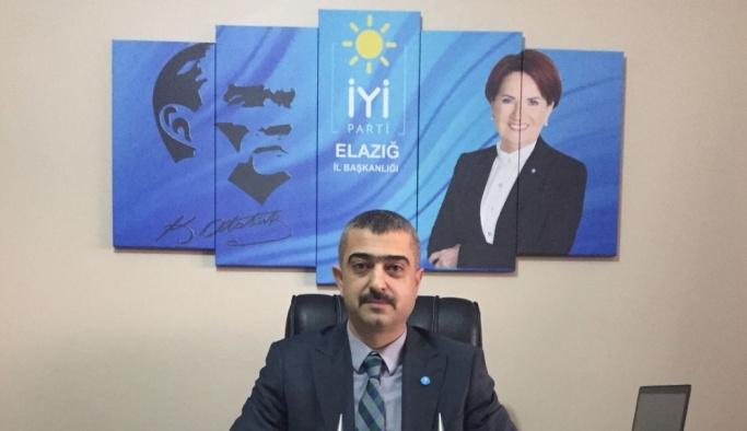 İYİ Parti Elazığ Kurucu İl Başkanı Erdem istifa etti