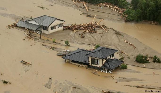 Japonya'daki sel felaketinde 209 kişi öldü