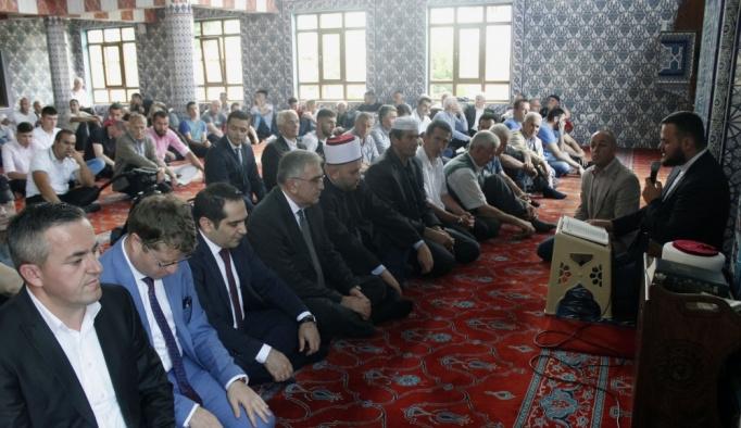 Karadağ'da 15 Temmuz şehitleri için hatim duası