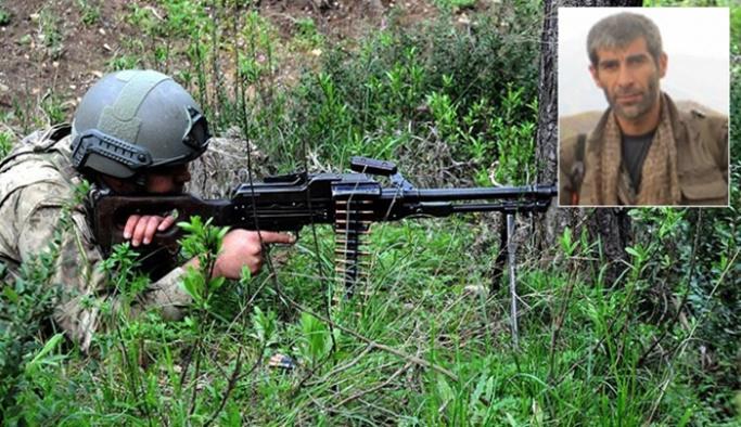 Kırmızı listedeki terörist Bitlis'te öldürüldü
