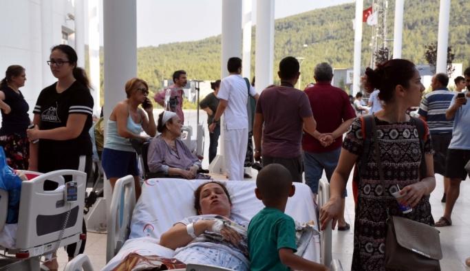 Muğla'da üniversite hastanesinde yangın