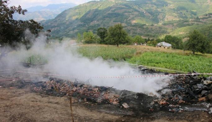 Ordu'da yangın: 3 ölü