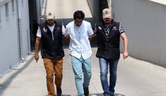 """""""Polislere silahlı saldırı davası"""" hükümlüsü yakalandı"""