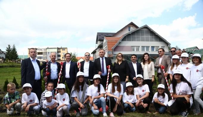 Sırbistan'da 15 Temmuz şehitleri için 251 findan dikildi