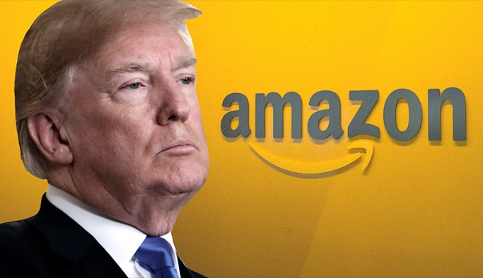 Trump, Amazon'u hedef aldı