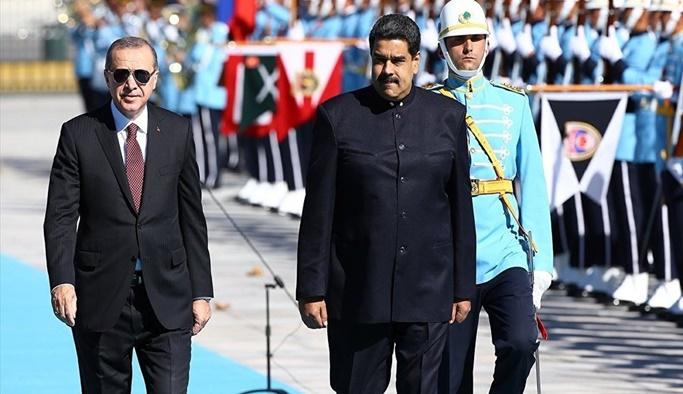 Maduro: Çok kutuplu dünyanın lideri Erdoğan