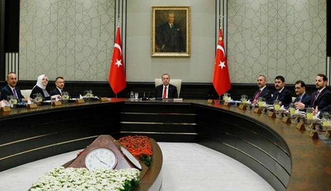 Yeni sistemin ilk kabine toplantısı yapıldı