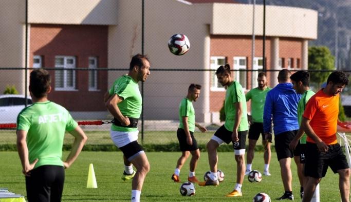 Afjet Afyonspor'da İstanbulspor maçı hazırlıkları