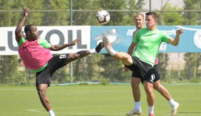 Atiker Konyaspor'da Bursaspor maçı hazırlıkları