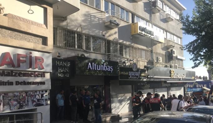 Başkentte pompalı tüfekle saldırı