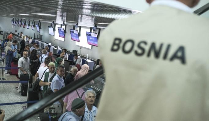 Bosna Hersek'ten ilk hacı kafilesi yola çıktı