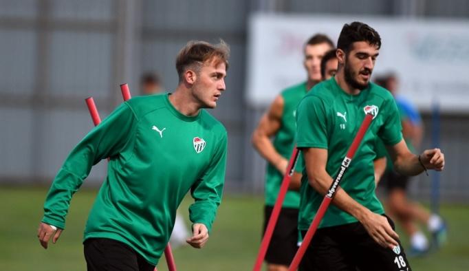 Bursaspor, Kayserispor maçının hazırlıklarına başladı