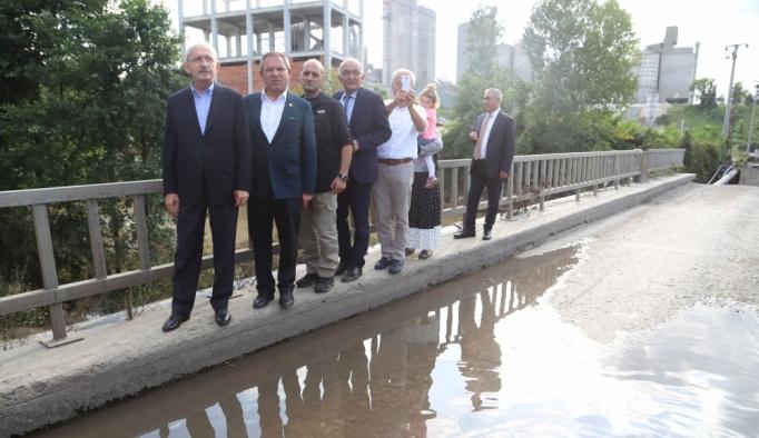 CHP Genel Başkanı Kemal Kılıçdaroğlu Ordu'da
